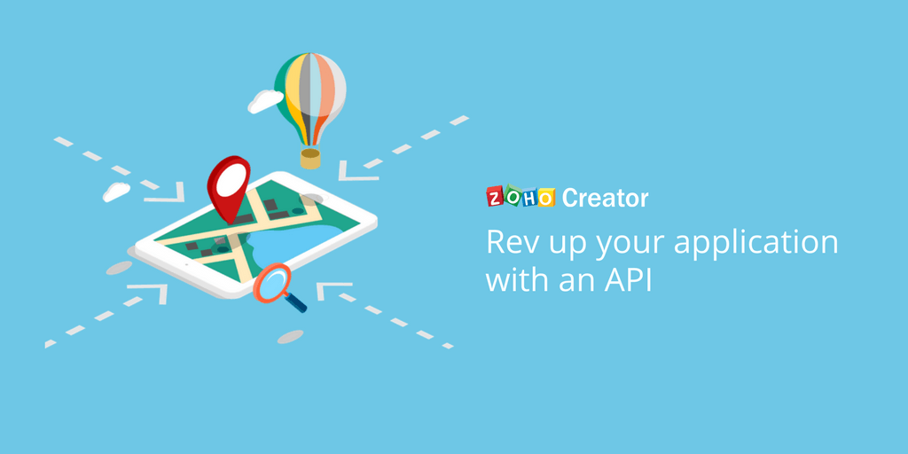 Rev up your application with an API.