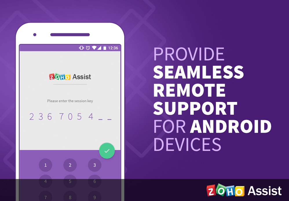Support android devices remotely