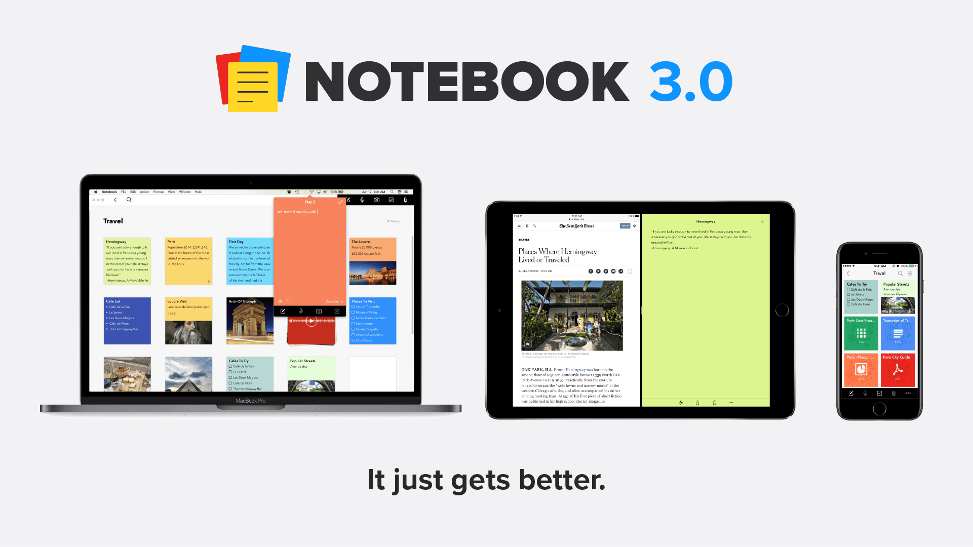Notebook 3.0: Introducing File Card, Web Clipper for Safari, Import from Evernote, and Much More