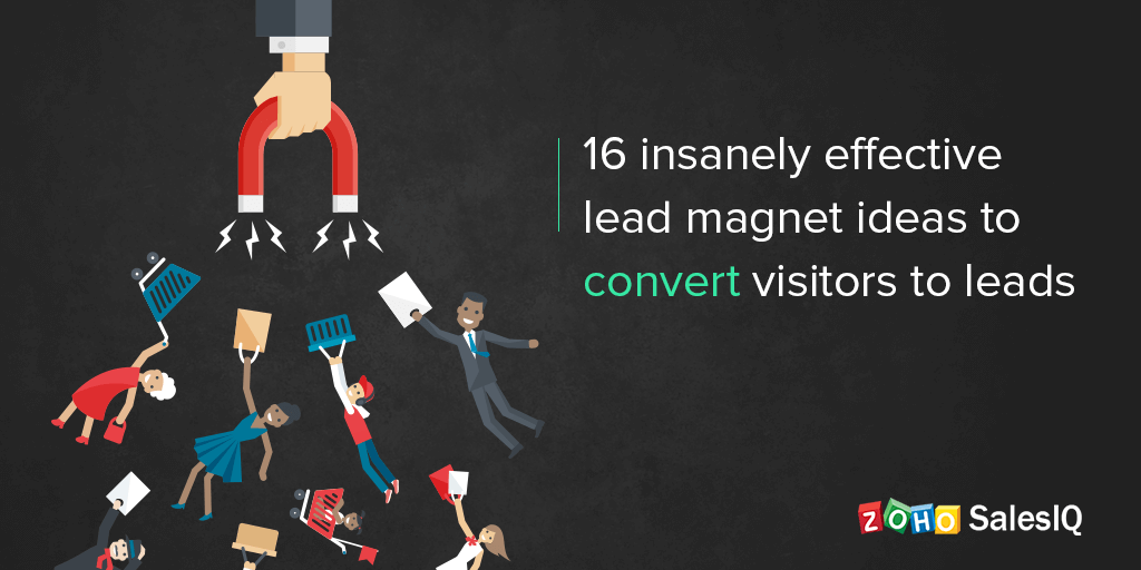 16 insanely effective lead magnet ideas to convert visitors to leads