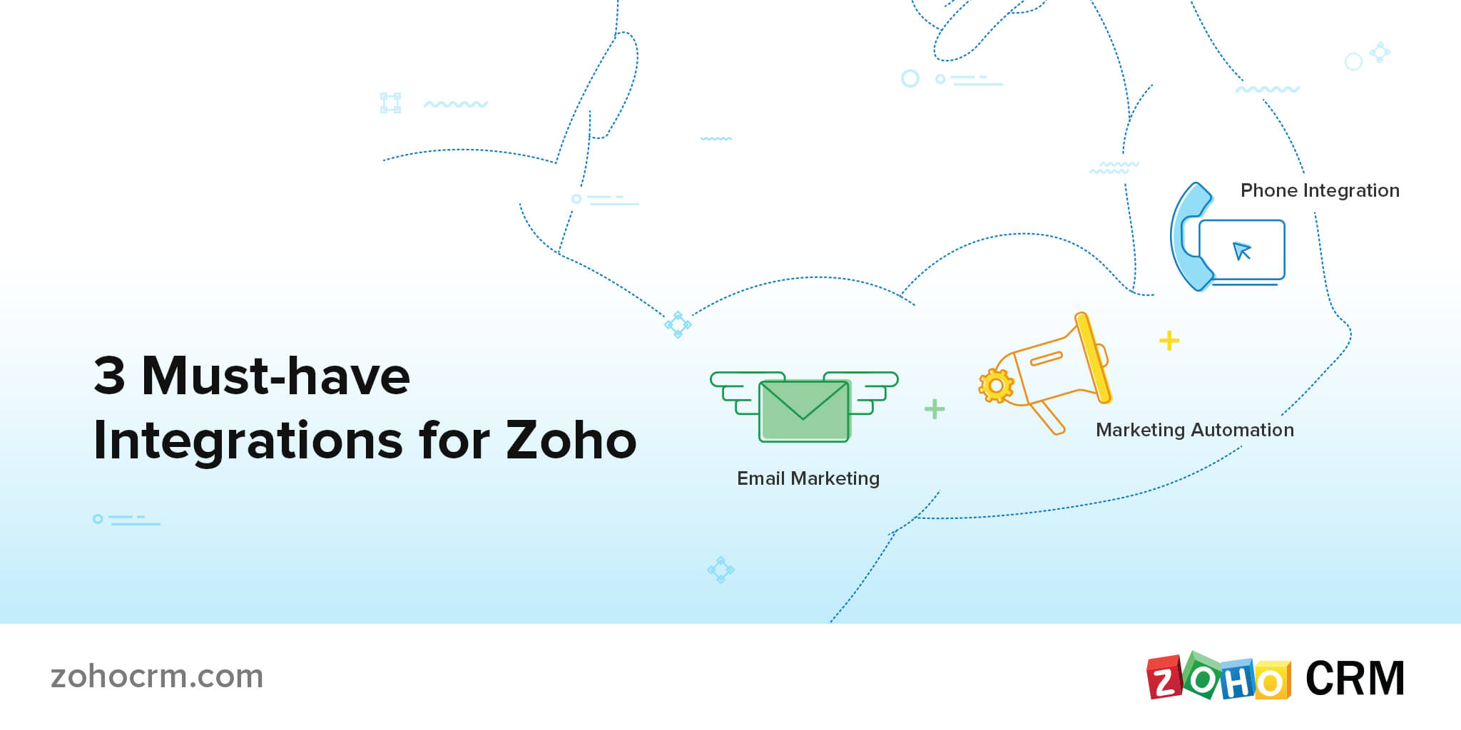 3 must-have integrations for Zoho.