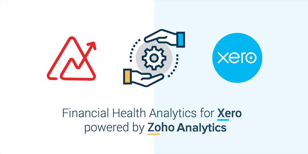 Financial Health Analytics for Xero powered by Zoho Analytics