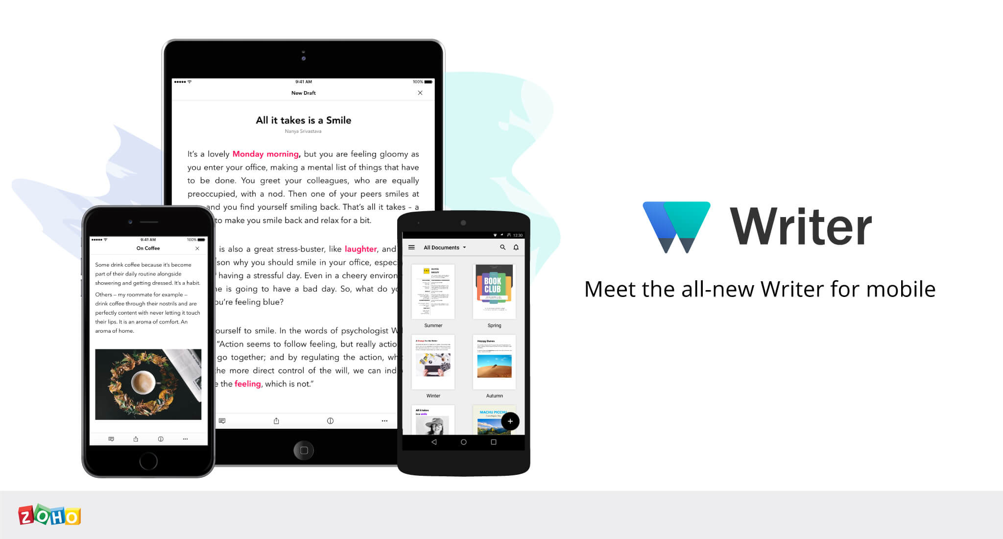 Introducing the All-new Writer for Mobile: A Big Leap Forward