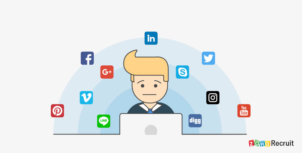 Five of the biggest mistakes made when using social media for recruitment