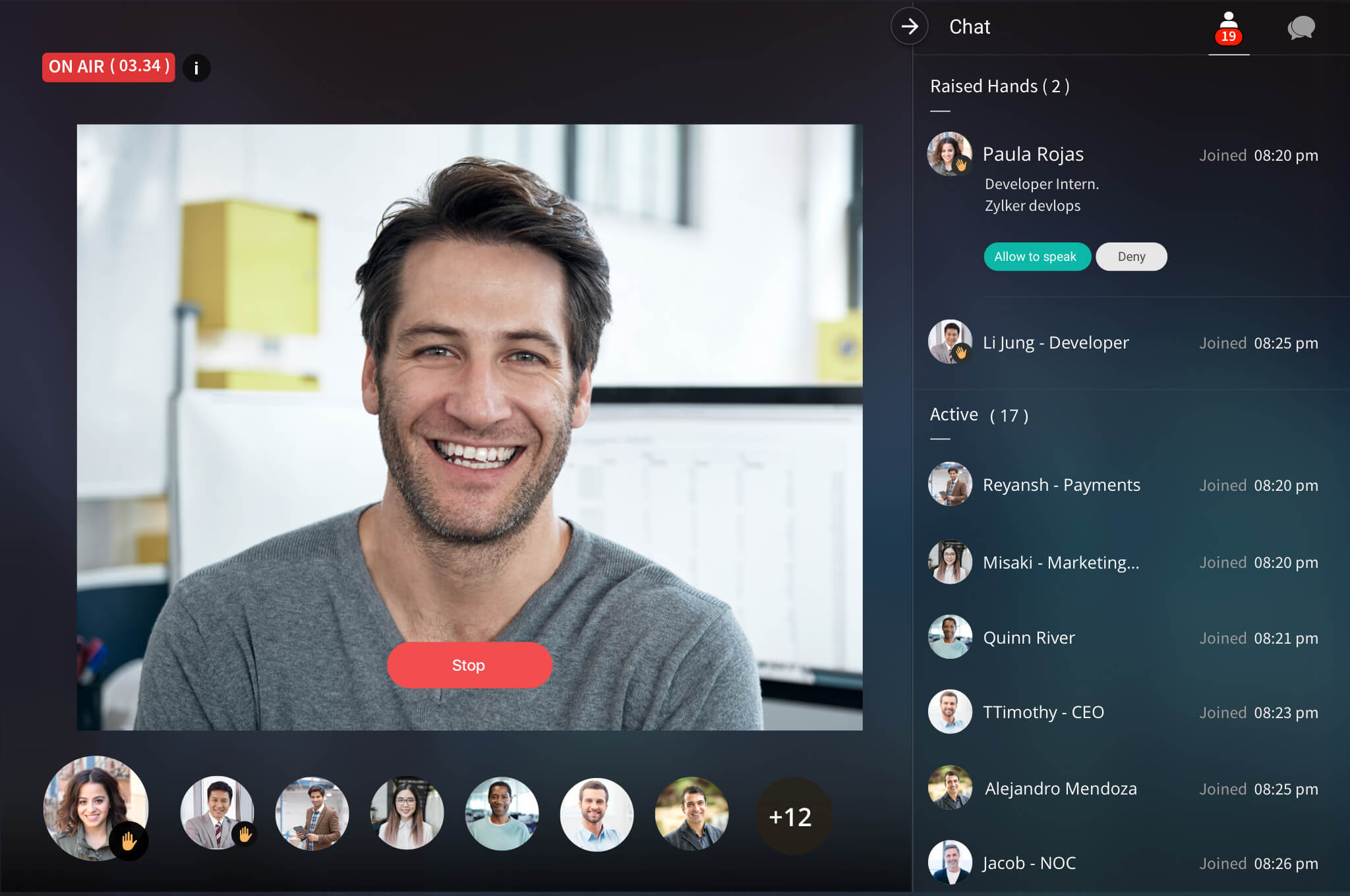 Introducing Cliq Business Chat Software Built For Work