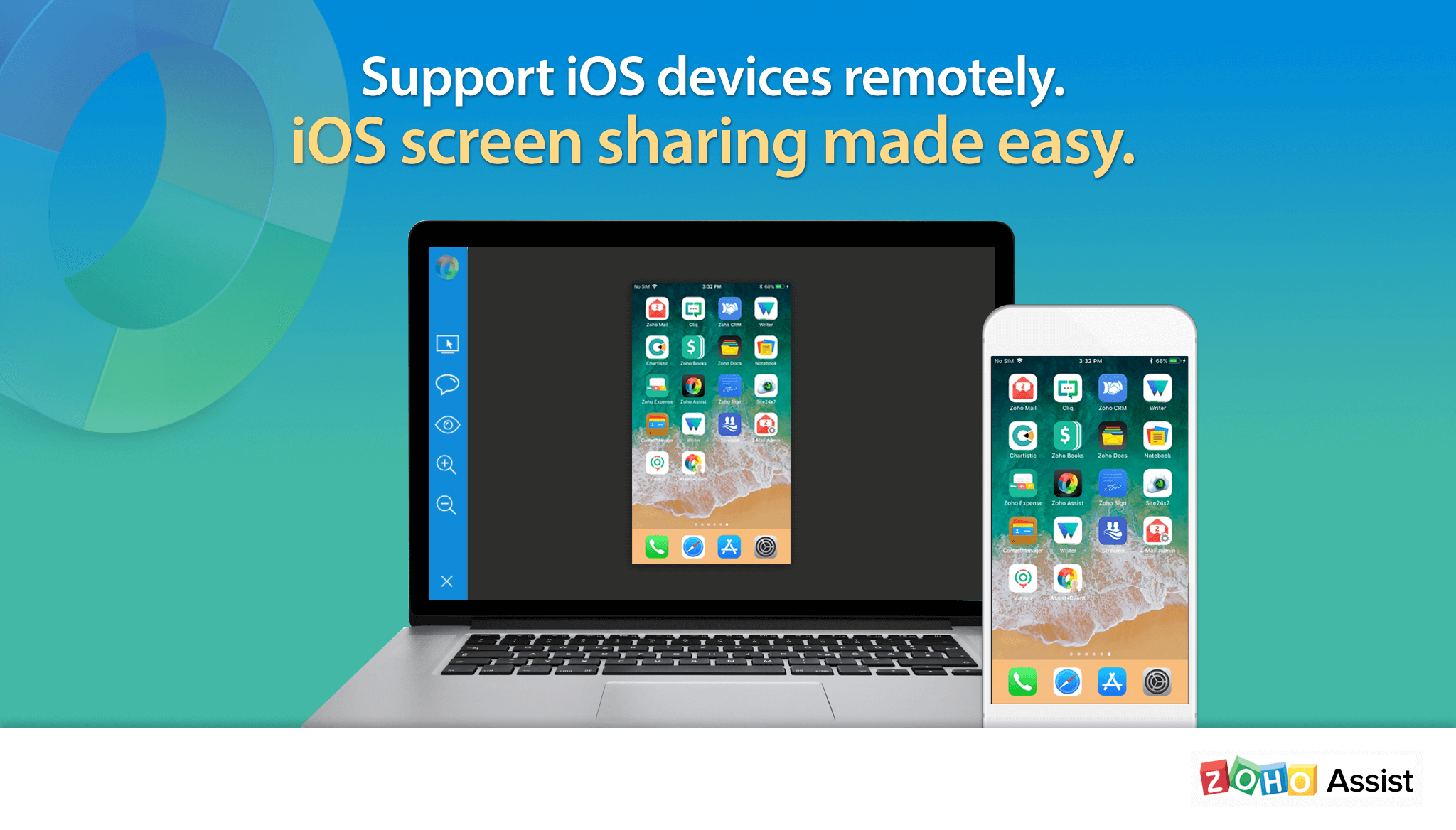 Zoho Assist: Remote Support for iOS Devices Made Easy