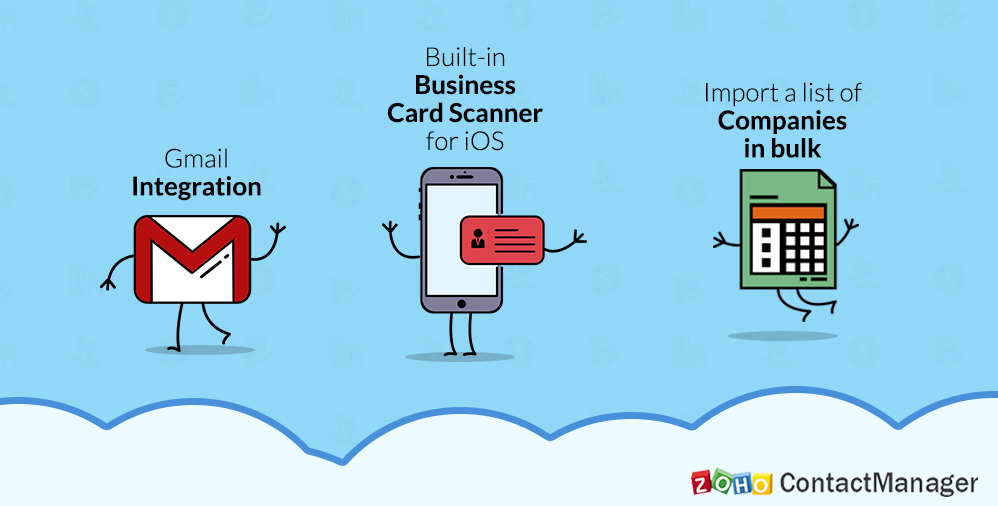 Say hello to Zoho ContactManager's newest updates. Here's what you can look forward to!