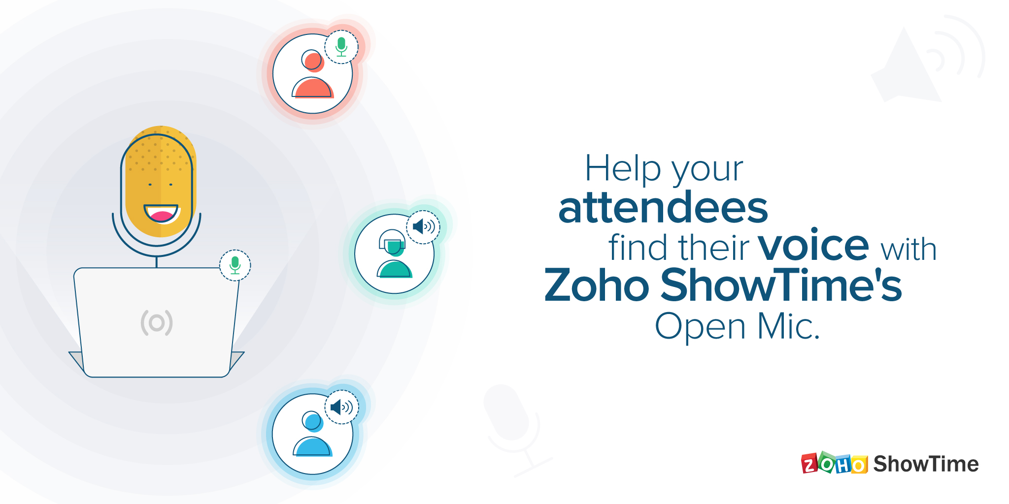Introducing Zoho ShowTime's Open Mic: Let your learners have their say!