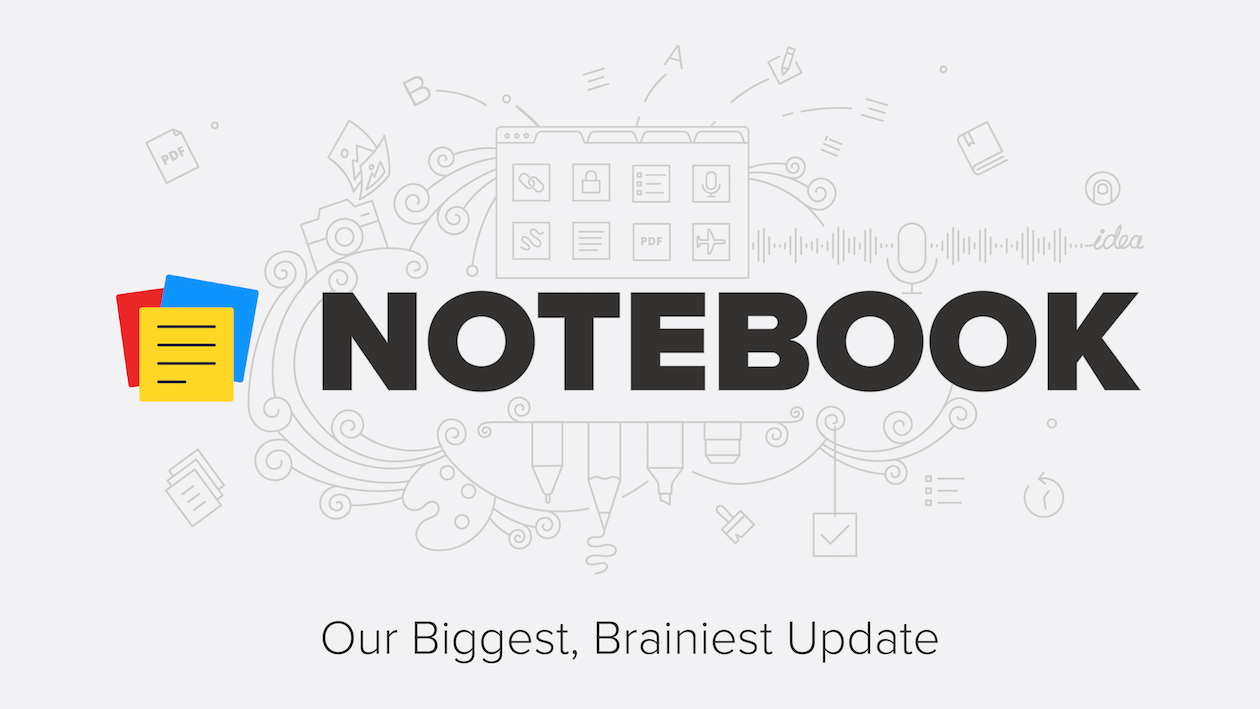 Notebook 4 0: Introducing Notebook for Web, Smart Cards