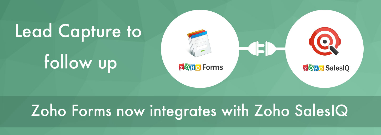 Your data collection stays on point with the new Zoho Forms integration with Zoho SalesIQ
