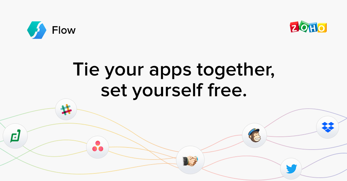 Introducing Zoho Flow: An App Integration Platform Designed to Automate your Business