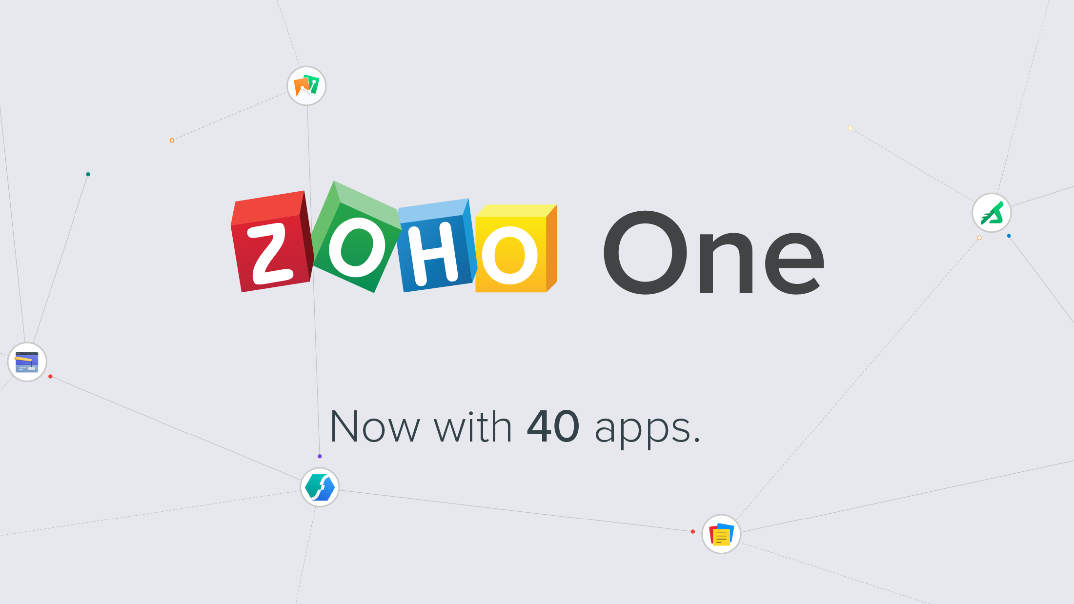 Zoho One: Now with 40 Apps to Run Your Business