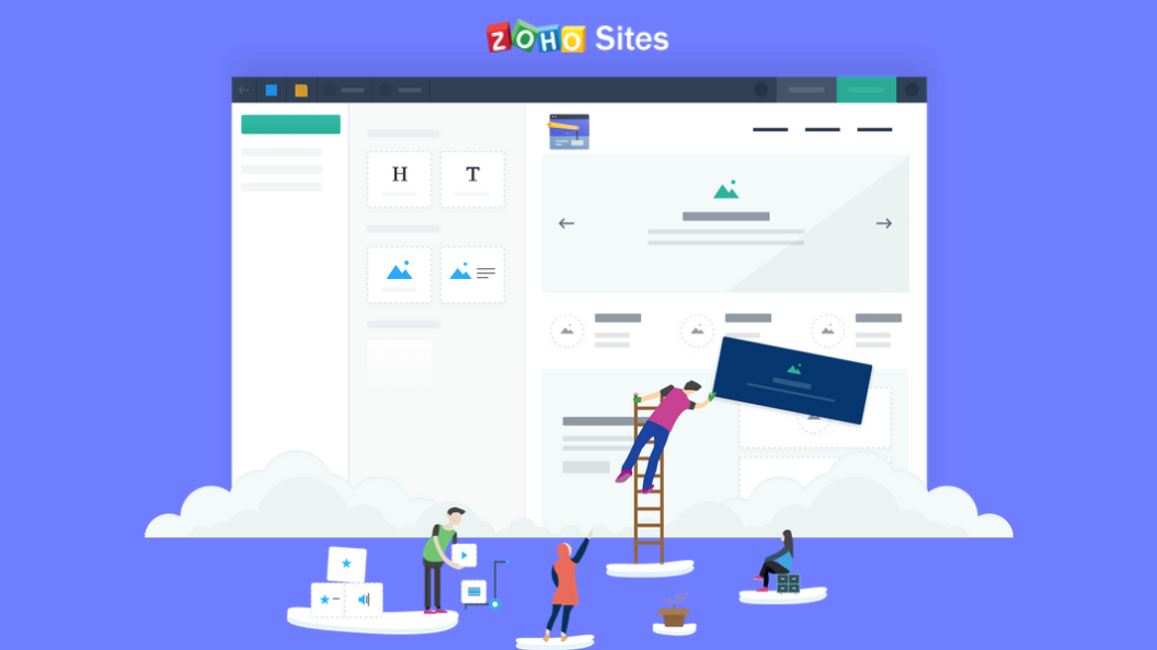 Introducing the new and improved ZohoSites!