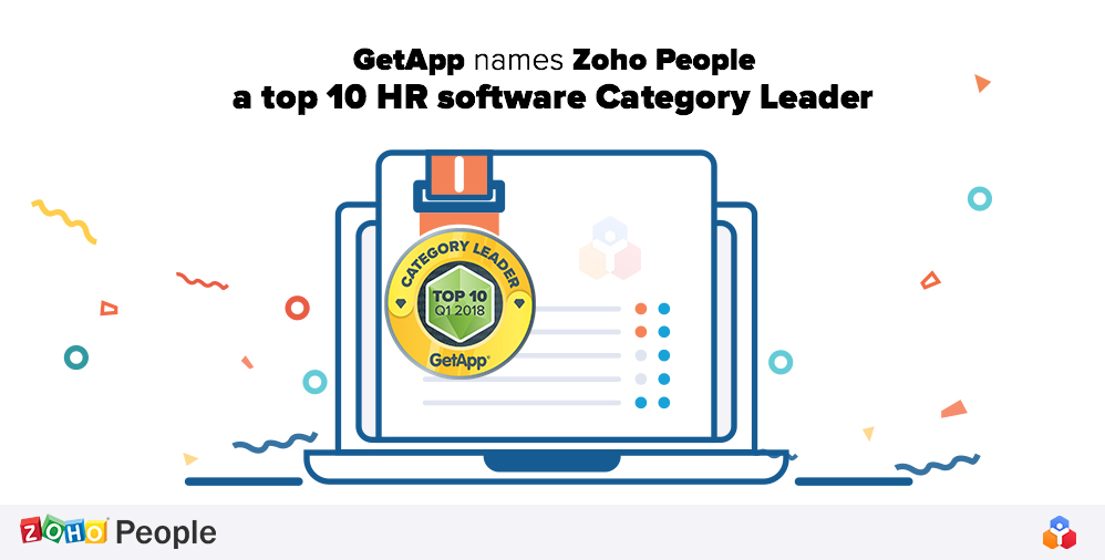 Getapp names zoho people a top 10 hr software category leader zoho getapp published its top 25 cloud based hr solutions and zoho people was ranked sixth out of 286 total contenders to determine the list getapp analyzed ccuart