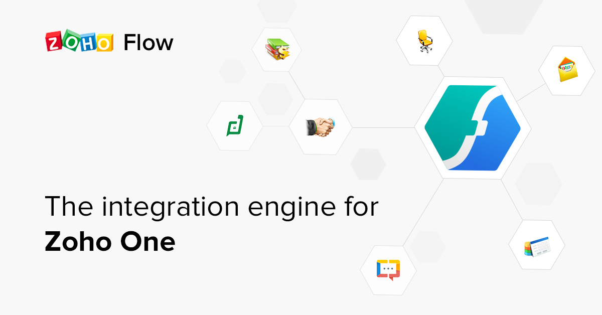 Zoho Flow, A Comprehensive Integration Platform for the Cloud, is Now Part of Zoho One
