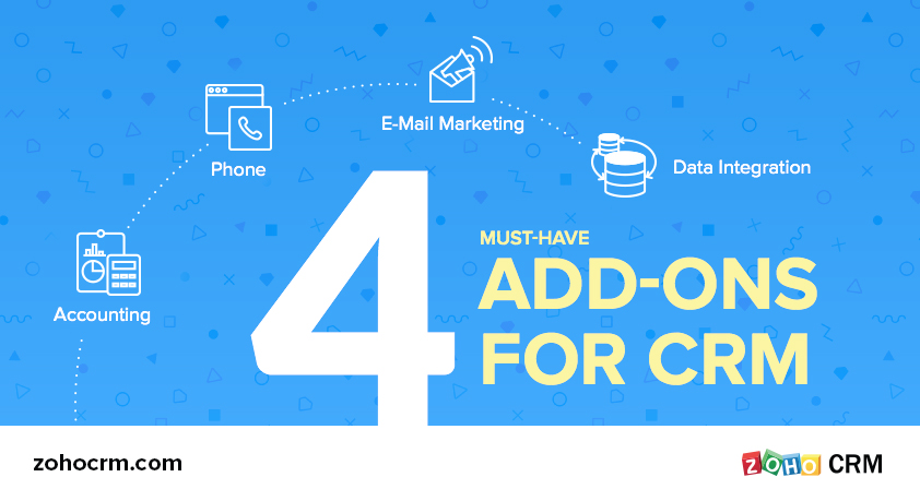 Four Must-Have Add-ons for your CRM System