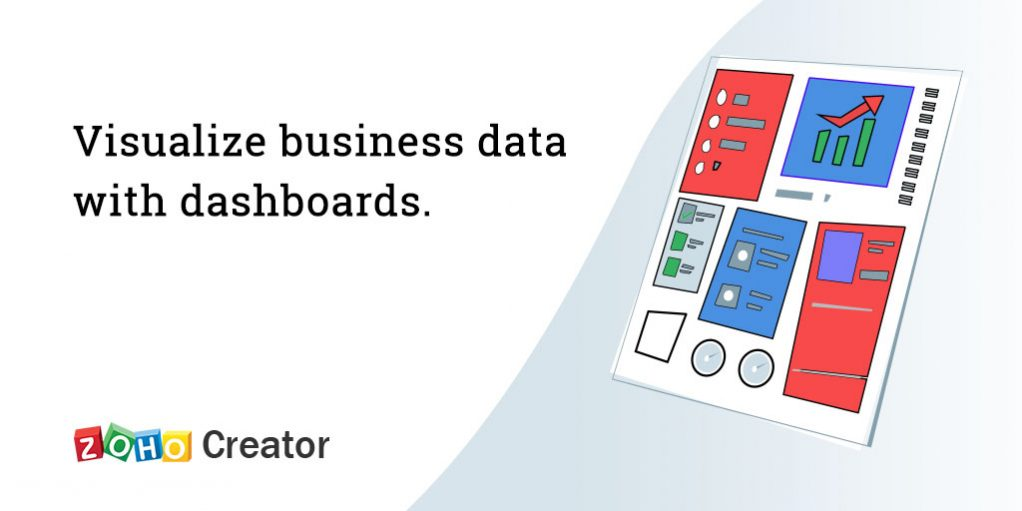Build business dashboards on Zoho Creator