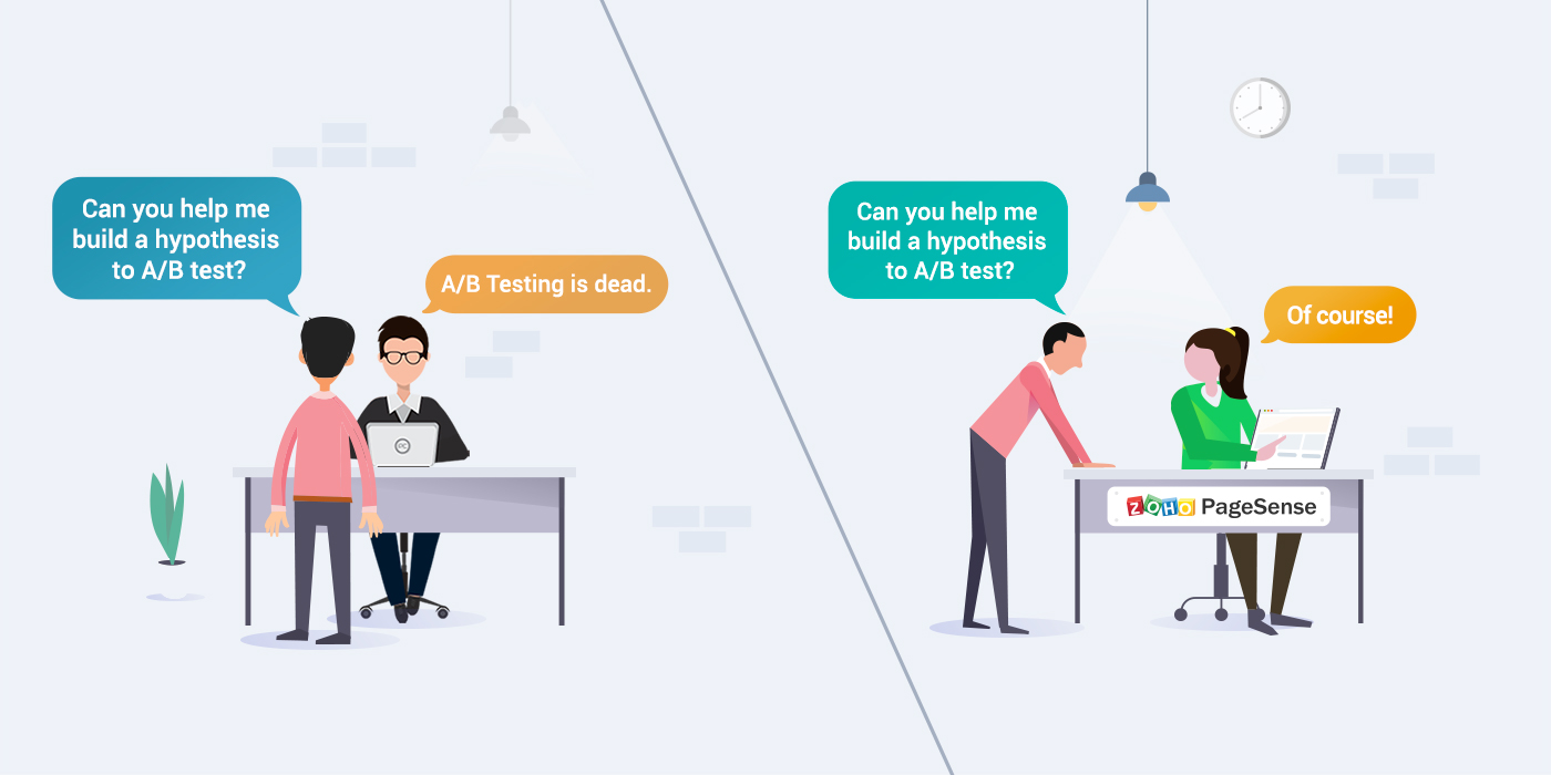 Mastering the art of A/B testing using PageSense