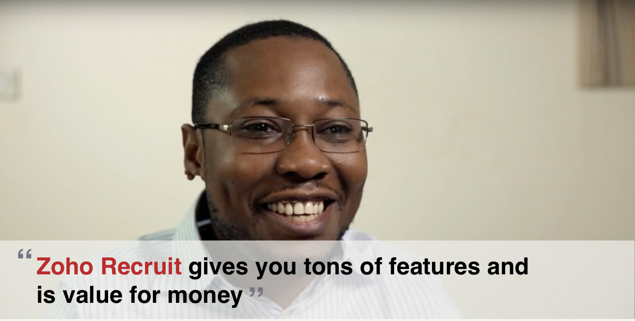 Customer Spotlight: eRecruiter Nigeria saves money and time with Zoho Recruit