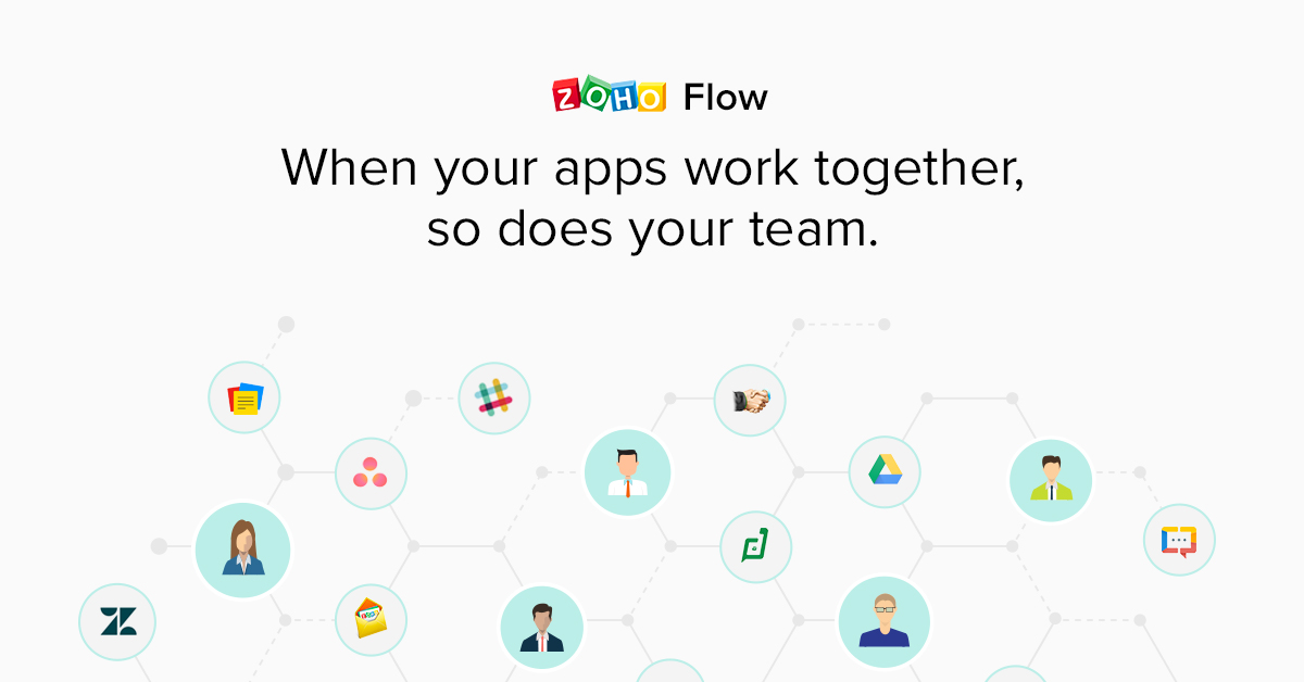 How Zoho Flow makes team collaboration more effective