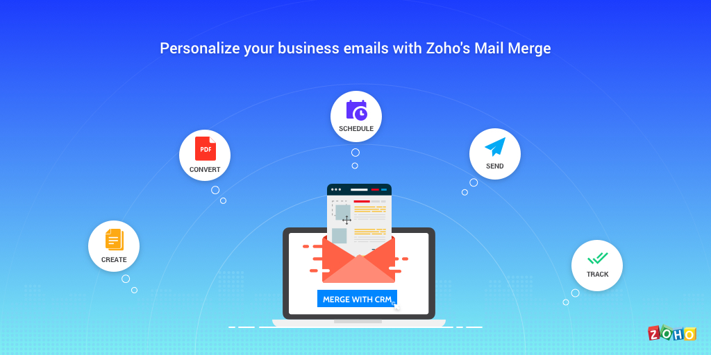 Create Personalized Email Templates with Mail Merge from Zoho