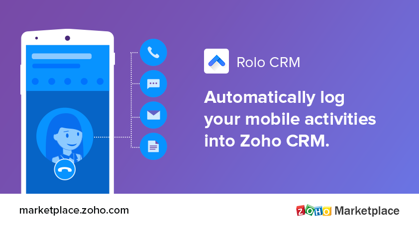 Nurture leads on the go with this mobile app extension for Zoho CRM.