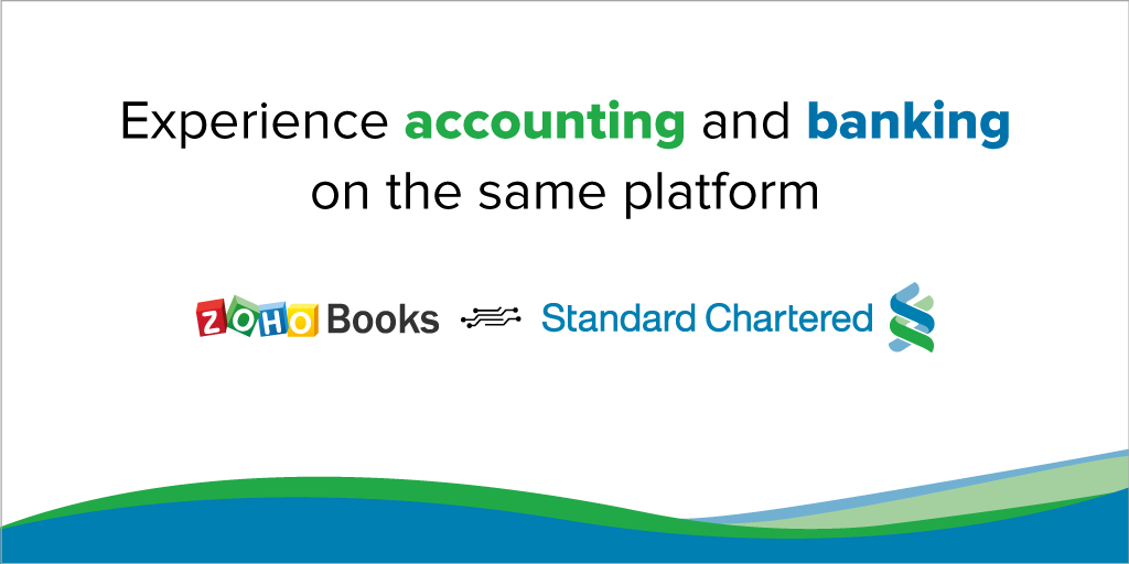 Simplify B2B payments and transaction reconciliation with Zoho Books and Standard Chartered Bank integration