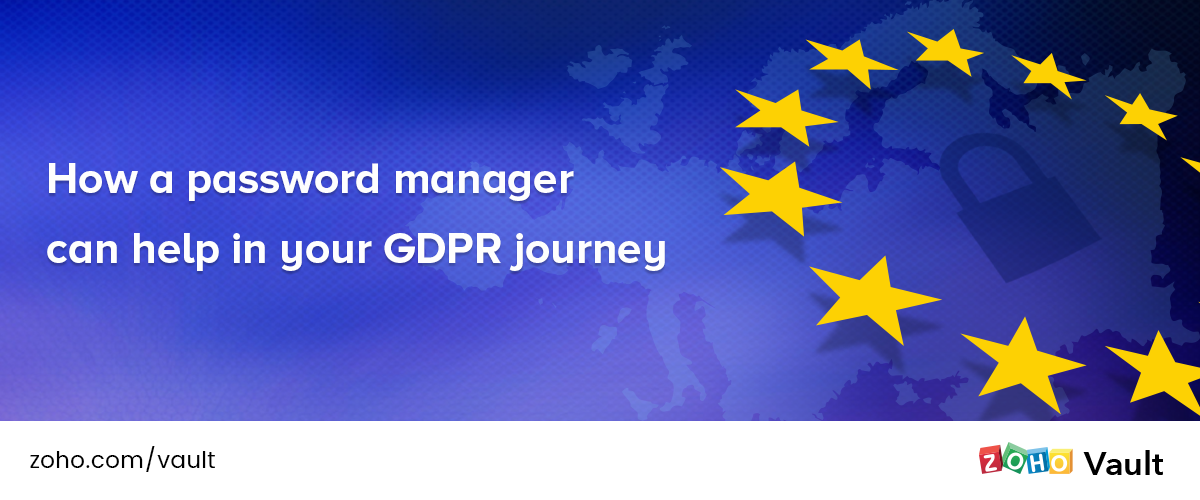 How a password manager can help in your GDPR journey