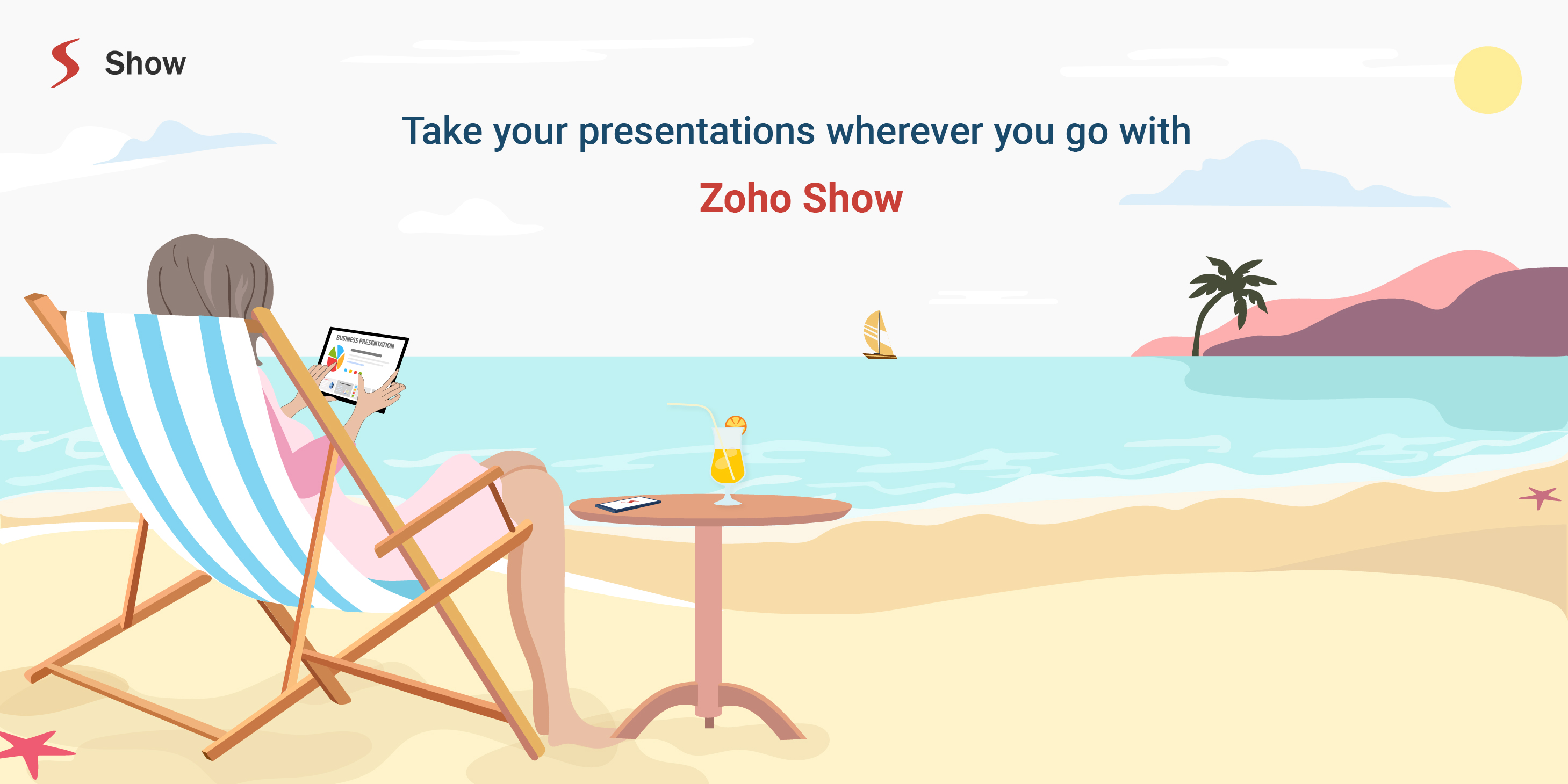 Zoho Show for Android – Carry your presentations in your pocket
