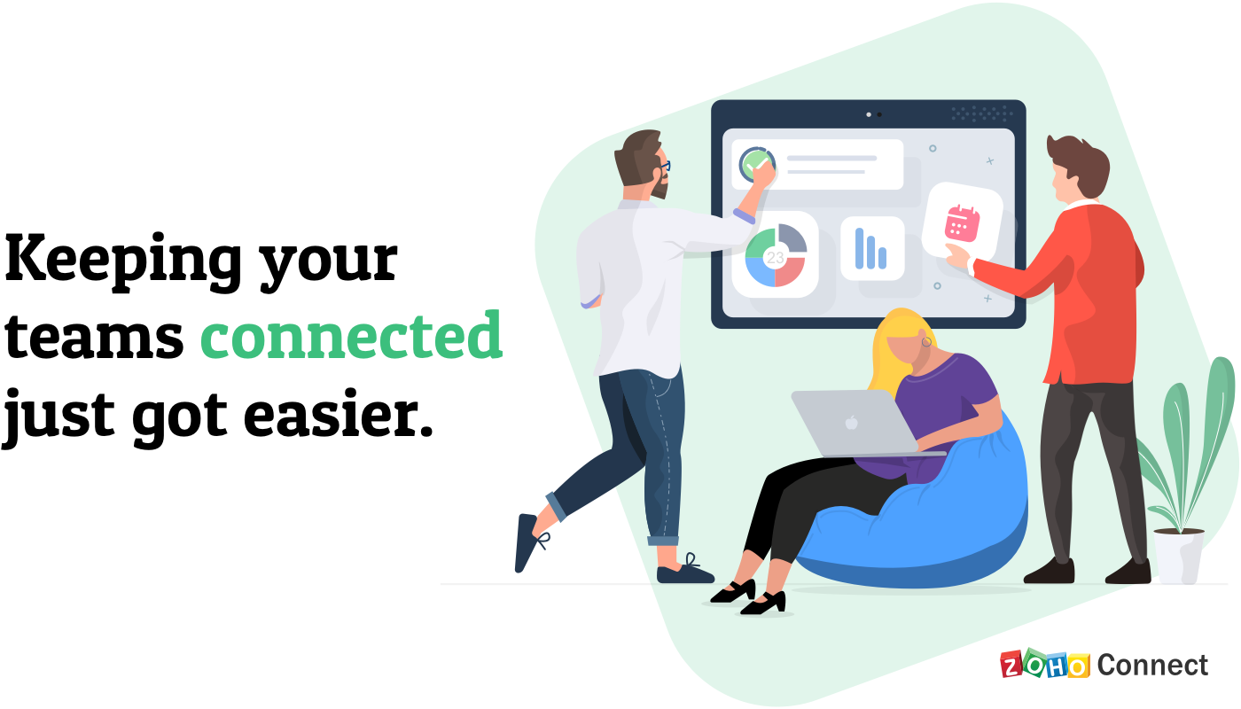 Keeping your teams connected just got easier.