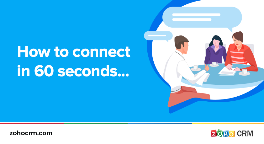 How to connect in 60 seconds…