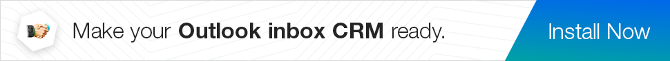 Get Zoho CRM add-in for Outlook