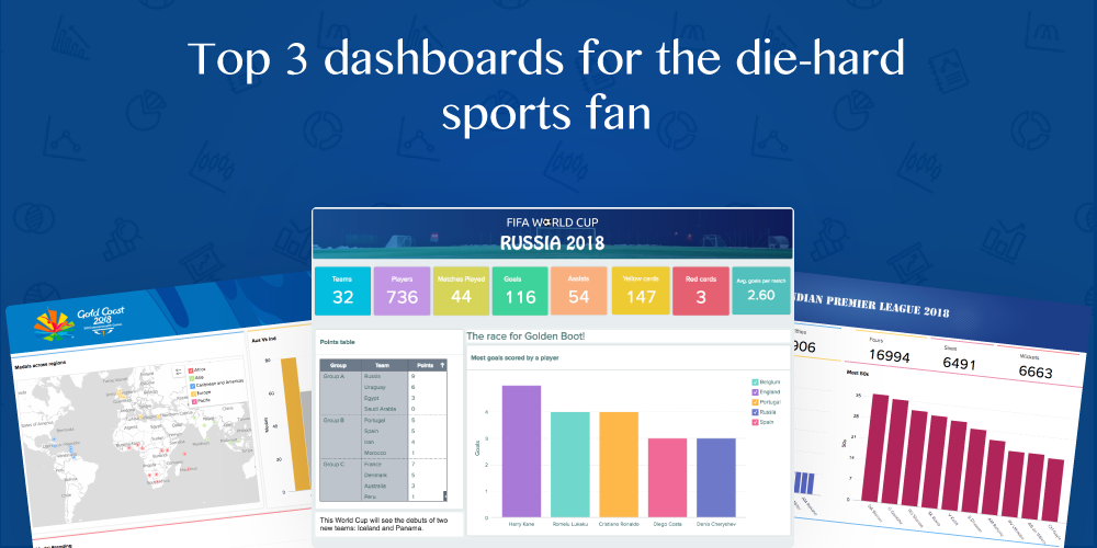 Top 3 dashboards for the die-hard sports fan