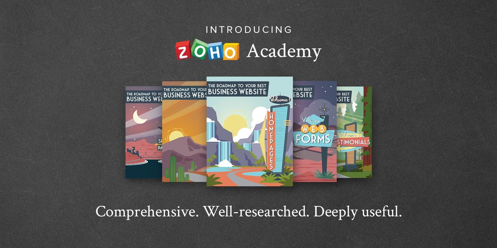 Introducing Zoho Academy