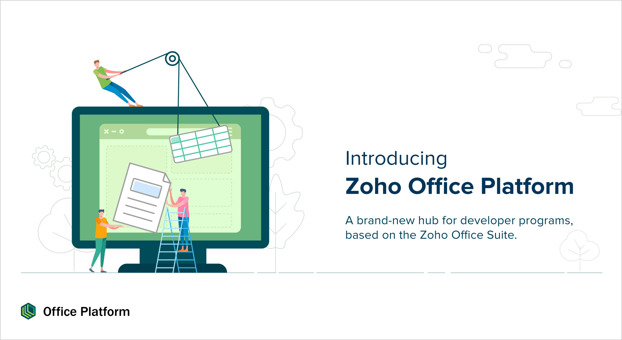 Build integrated solutions with the Zoho Office Suite—introducing Zoho Office Platform