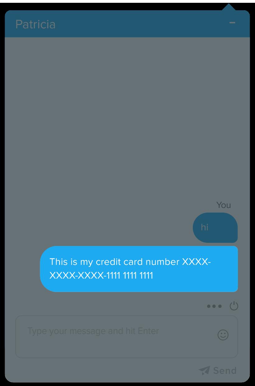 Credit Card Masking