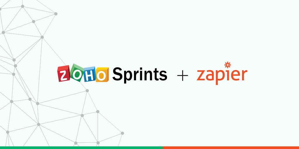 Increase your teams' agility with Zapier integrations for Zoho Sprints