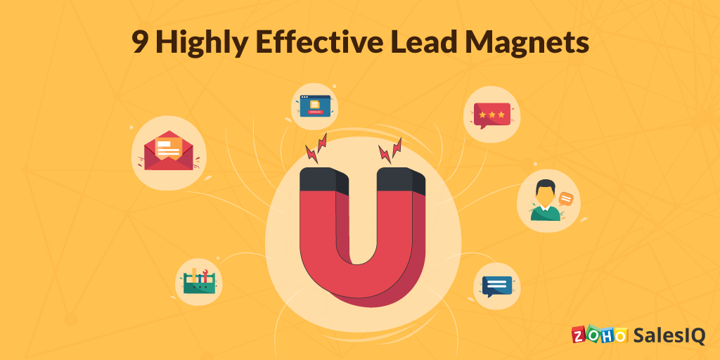 Infographic: 9 Highly Effective Lead Magnets
