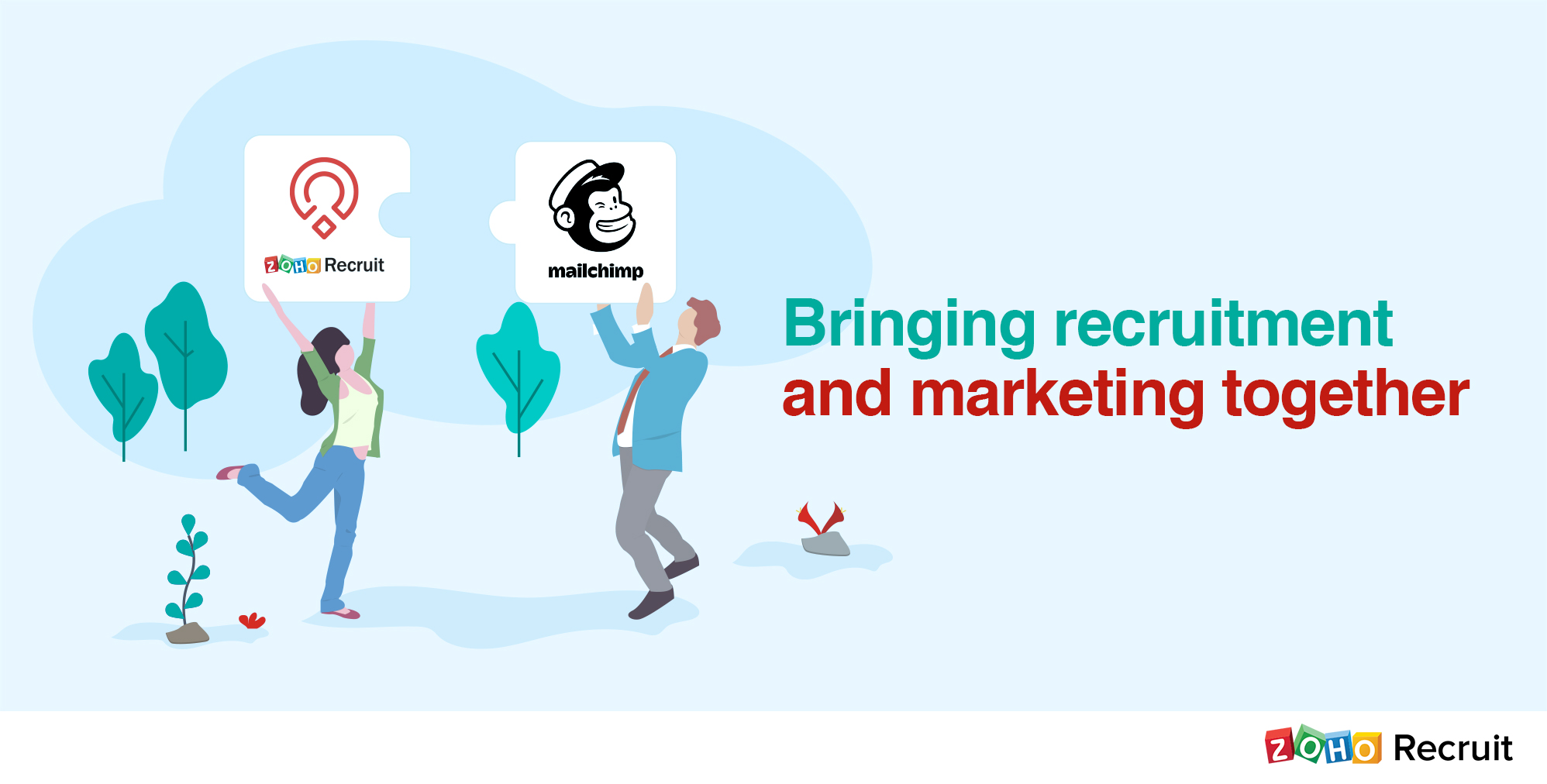 We bring to you the Zoho Recruit – MailChimp integration.