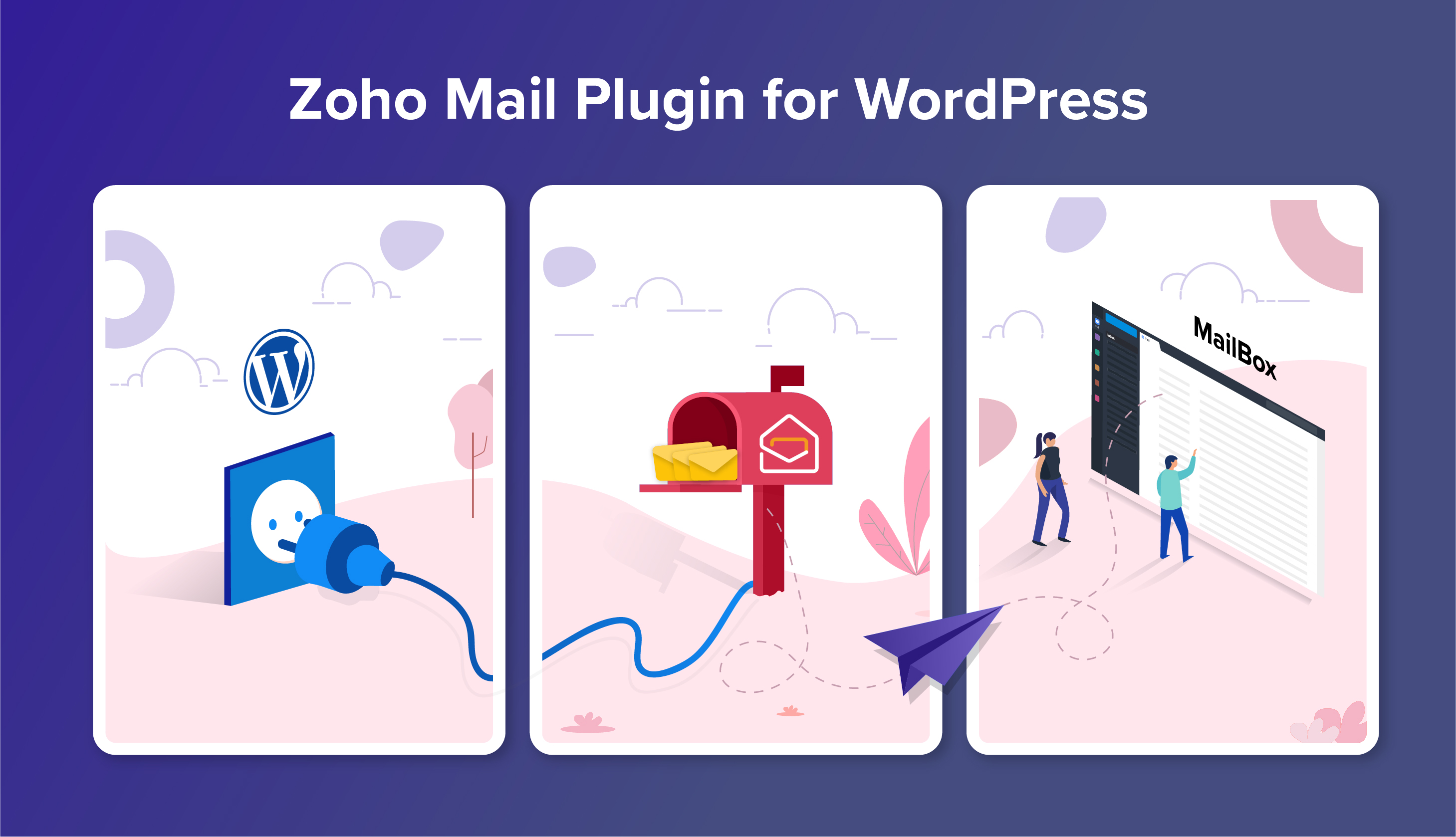 Zoho Mail Plugin for WordPress—sending authentic emails from your website