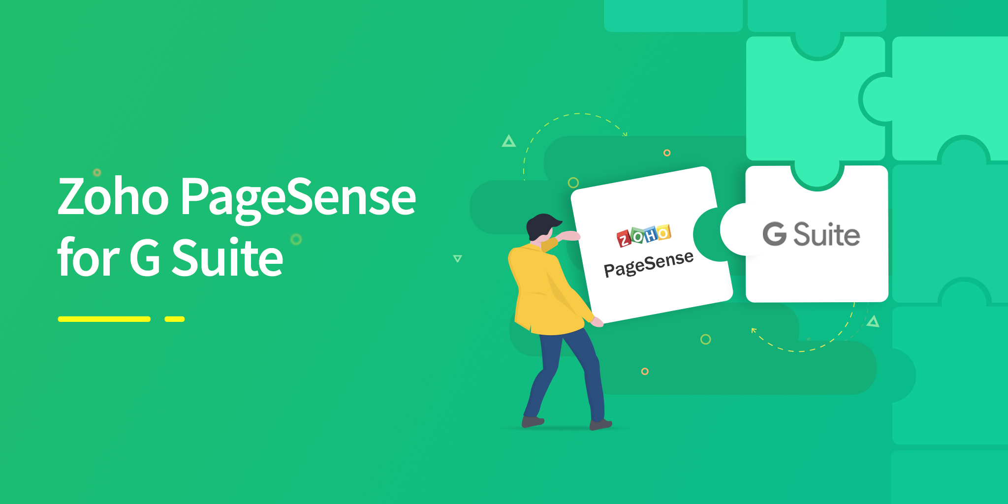 Announcing Zoho PageSense for G Suite