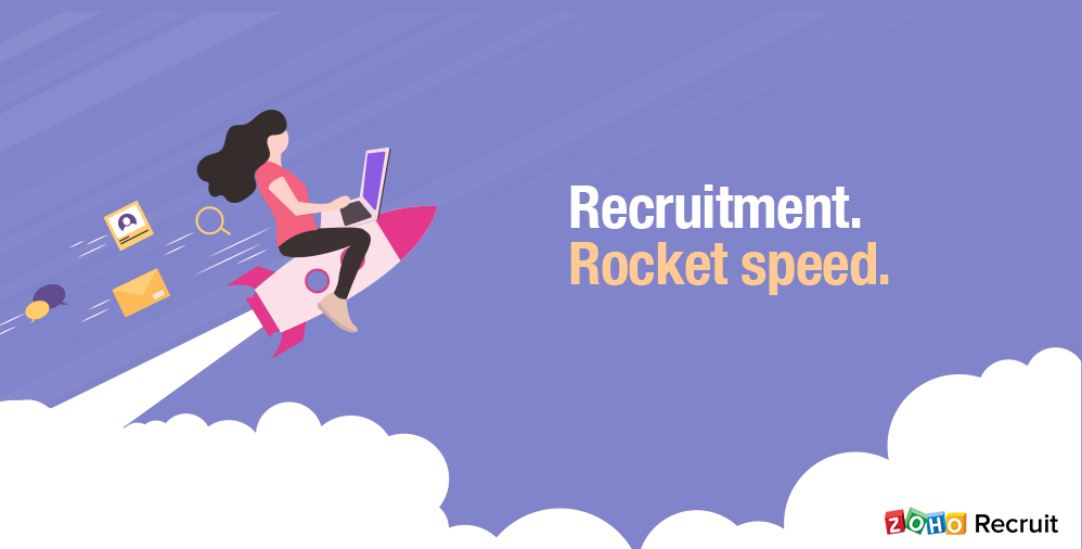 Zoho Recruit, helping recruiters recruit better since 2009.