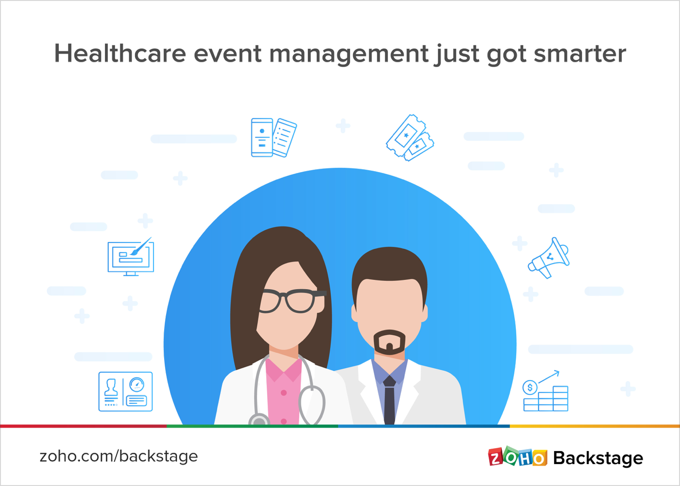 How Zoho Backstage can help you manage your healthcare events