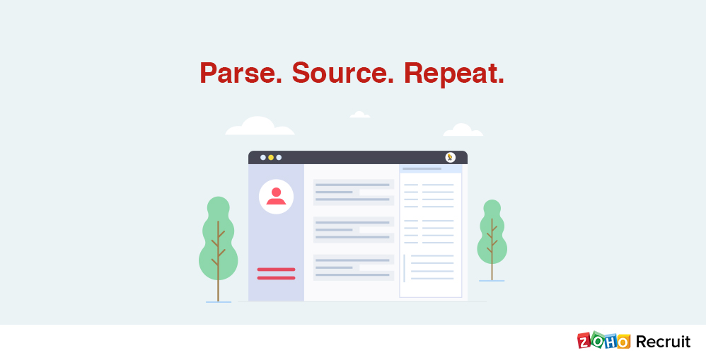 View Resumes | Parse Candidate Resumes As And When You View Them Zoho Blog