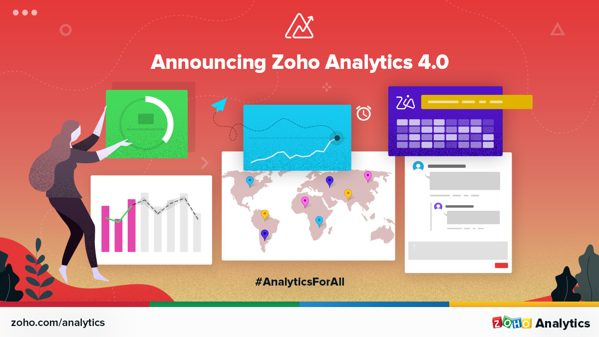 Announcing Zoho Analytics 4.0 with AI Powered Assistant and Auto-Blending of Data