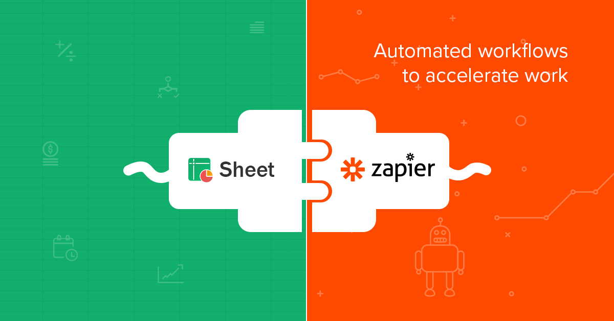 Announcing Zoho Sheet's integration with Zapier