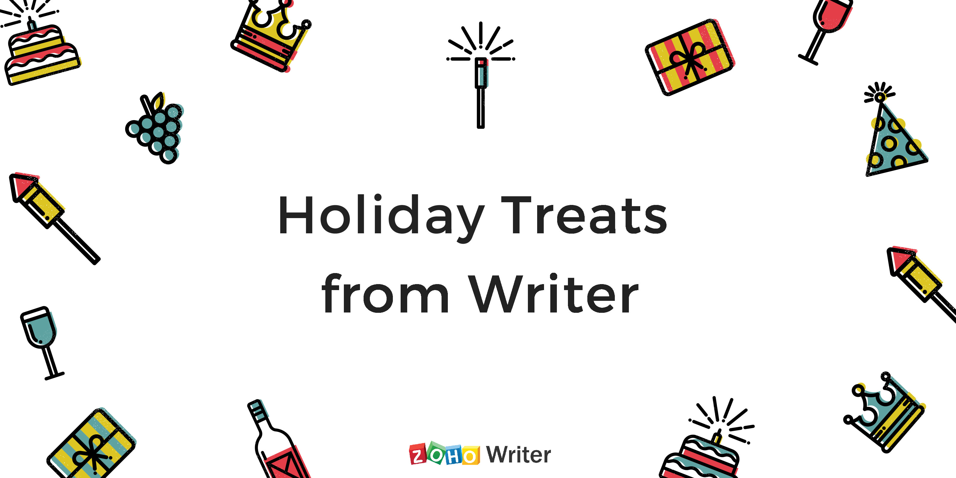 Holiday treats from Writer