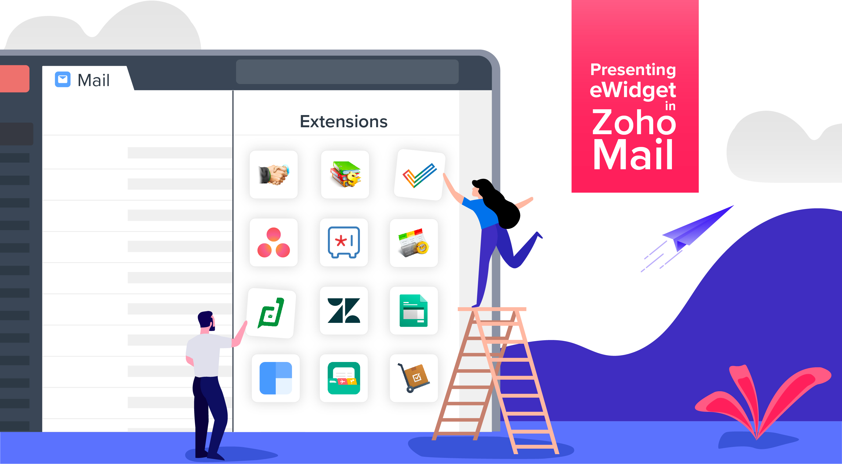 Announcing the new 'eWidget' in Zoho Mail