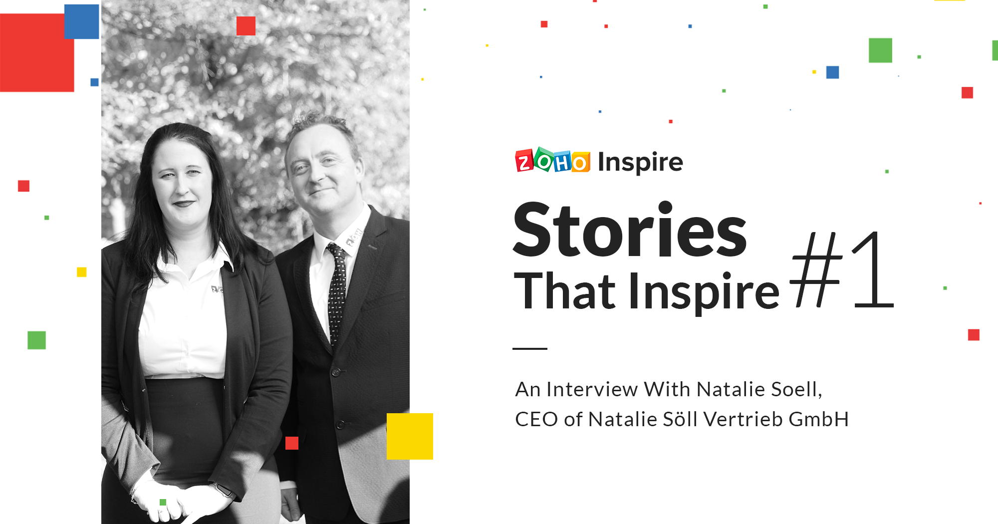 Stories That Inspire Ep1: How Zoho Partner Natalie built a world class SaaS consulting firm in Germany