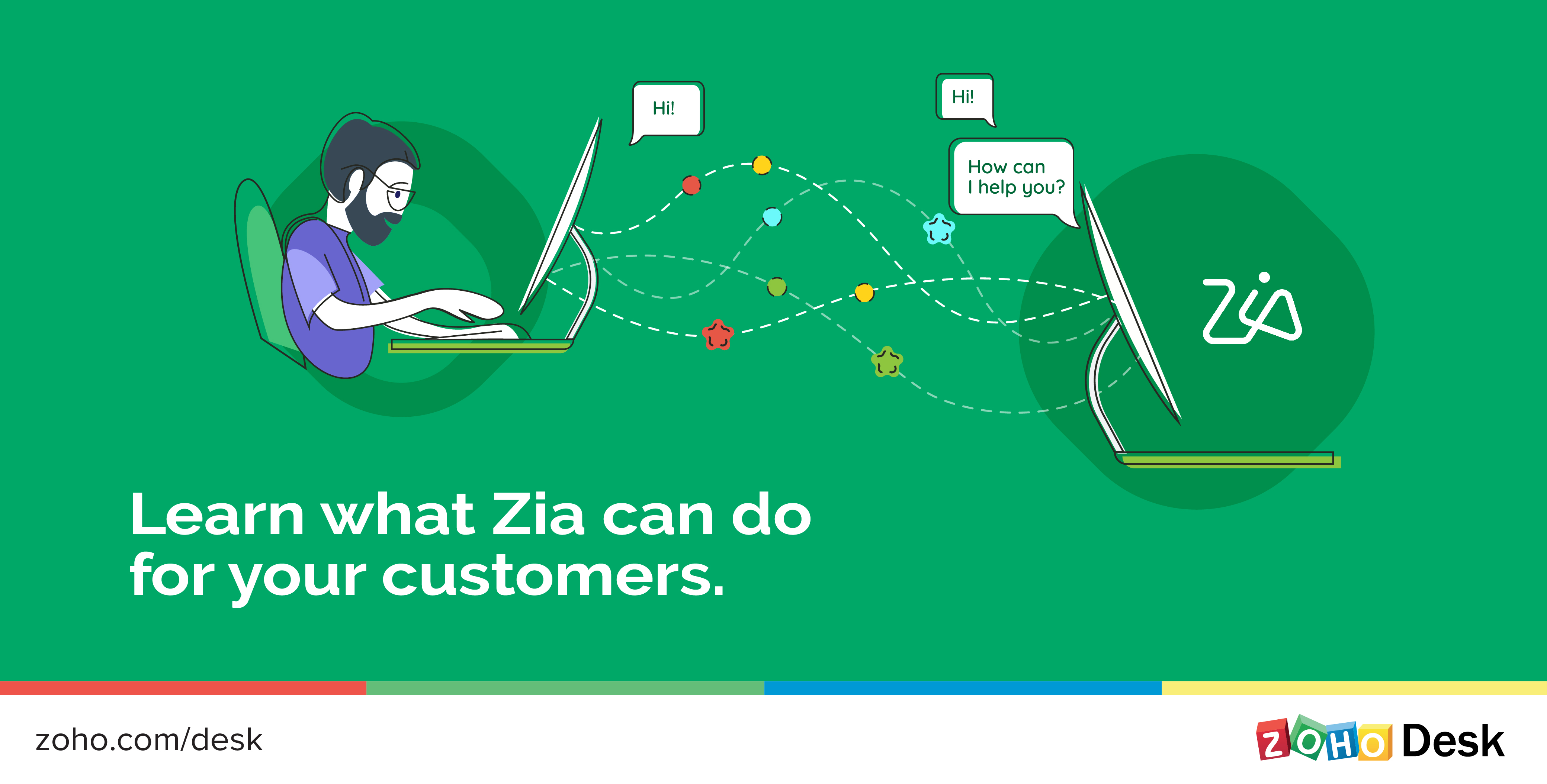 Zia for Customer Service, Part 3: Zia for Customers